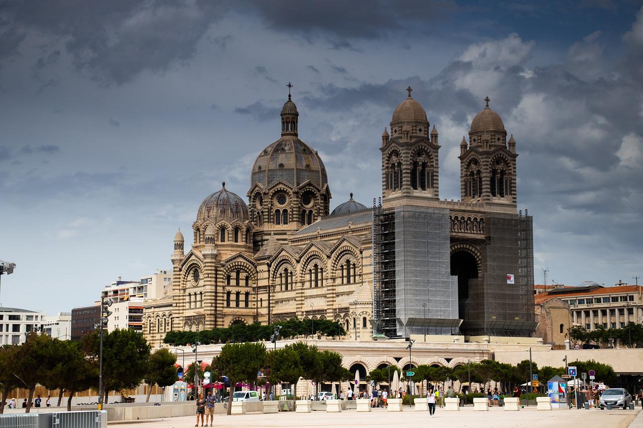 Promenade dans la ville de Marseille